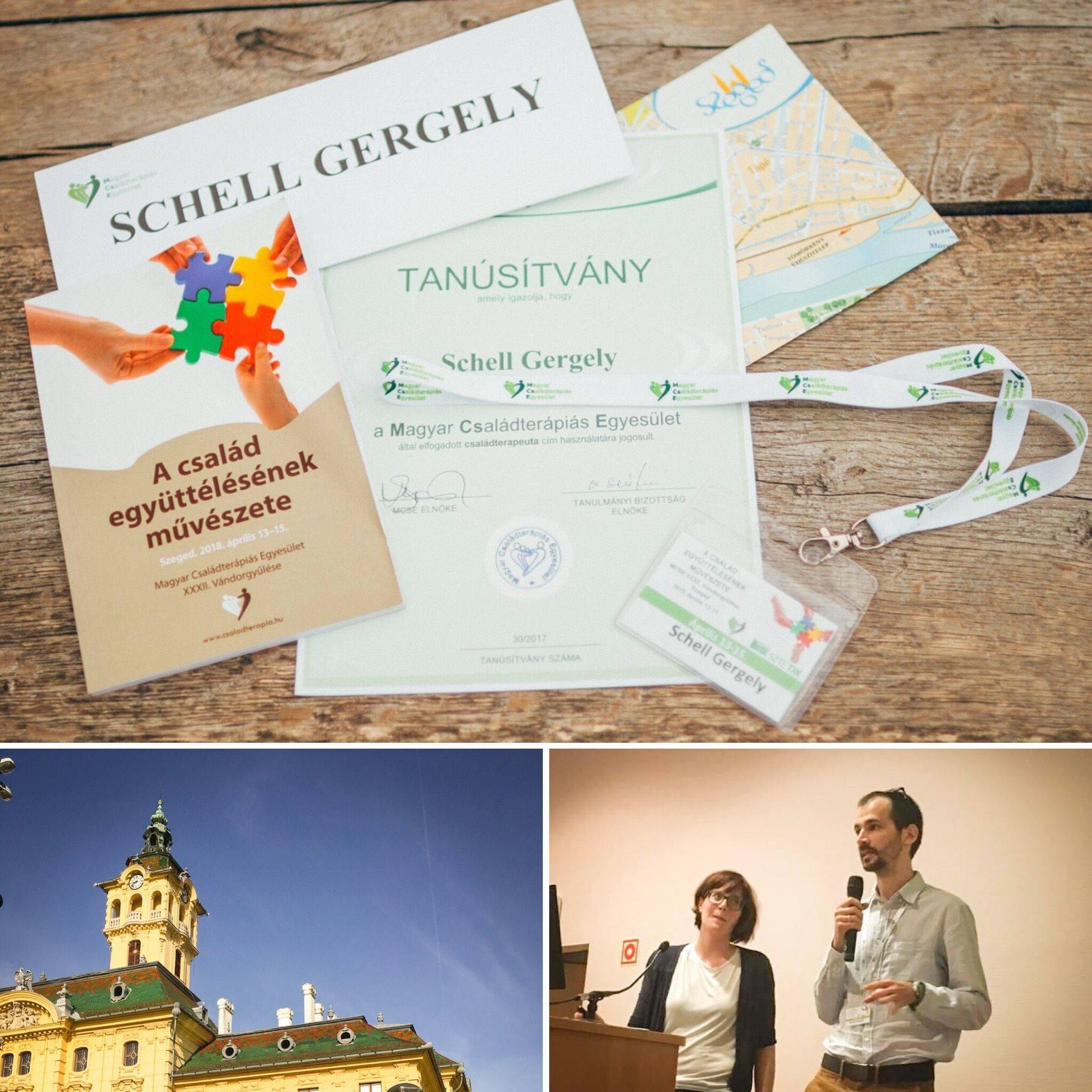 Előadás a Magyar Családterápiás Egyesület Vándorgyűlésén