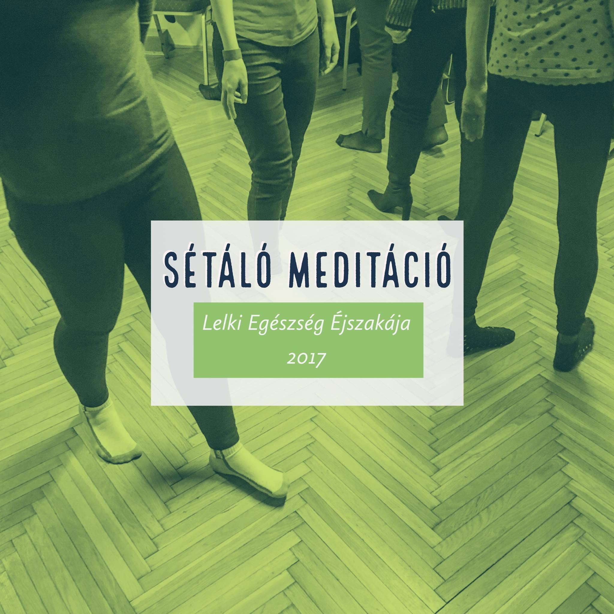 Sétáló meditáció workshop Schell Gergely